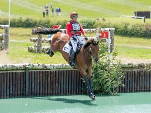 David-Sheerin competing at Barbury Horse Trials